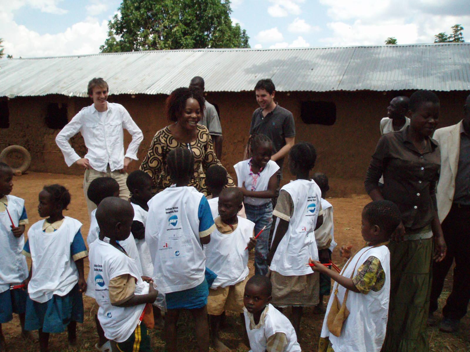 Children at the Samahanga Orphanage